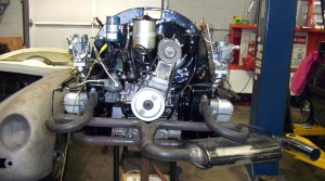 1962 Porsche 356B Coupe Engine