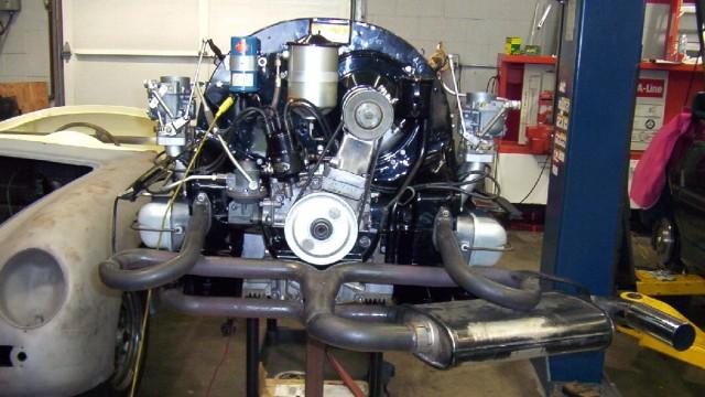 1962 Porsche 356B Coupe Engine