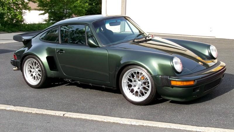 1975 Porsche 911 Turbo Carrera Rust Repairs and Brake System Update