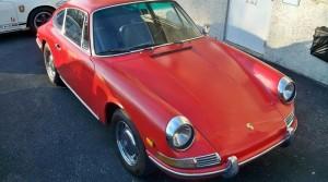 1968 Porsche 912 Rust Repairs