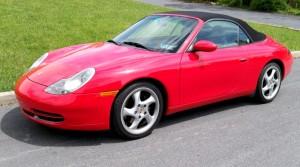 2001 996 Cabriolet