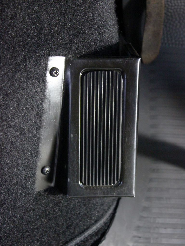 Factory Dead Pedal Footrest 187 Specialty Cars Service