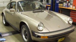 1982 Porsche 911SC: Carrera Oil Cooler Installation