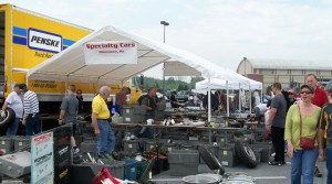 Porsche Swap Meet at Hershey – 2012
