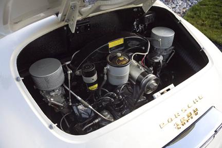 1957 Porsche 356 Speedster 1600S Engine & Transmission Restoration