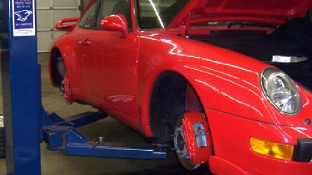 1997 Porsche 993 Turbo Brake Upgrade