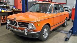 1972 BMW 2002 Build