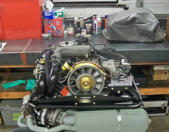 1976 Turbo Carrera Engine Build