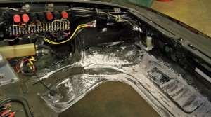 Battery Acid Rust Repairs