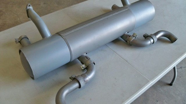SOLD: Porsche 356A Stock Muffler & Tail Pipe Set