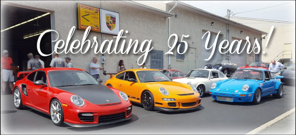 Specialty Cars 25th Anniversary