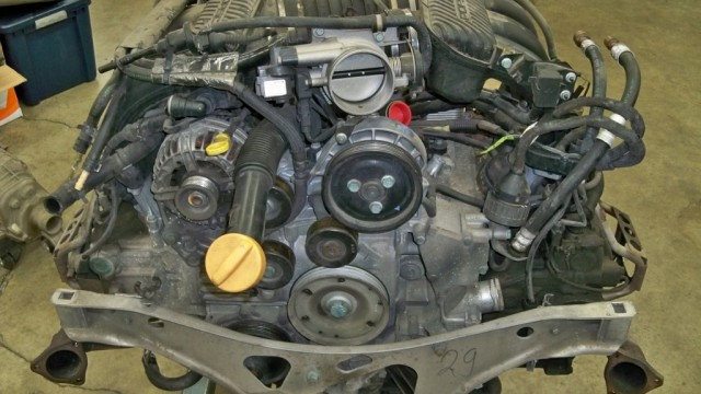 1999 Carrera Cab 3.4L M96 Engine Rebuild
