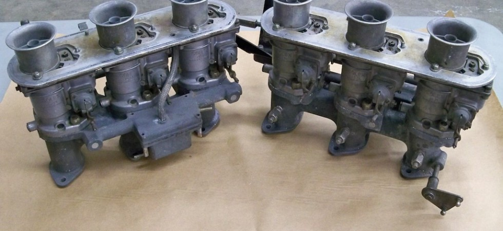 SOLD: Solex 40 PI Carburetors and Manifolds