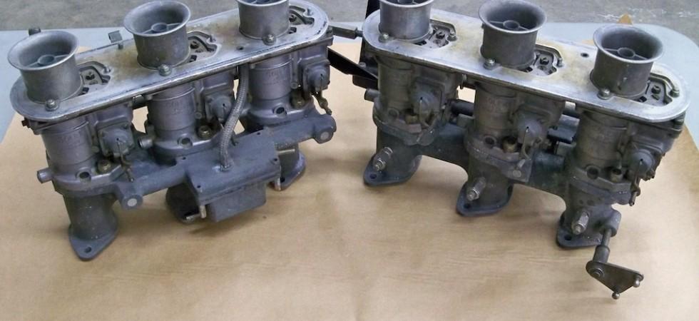 SOLD: Solex 40 PI Carburetors and Manifolds
