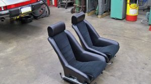 SOLD: 1967-1968 Recaro Bucket Seats, Sliders & Brackets