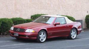 2001 Mercedes Benz SL500