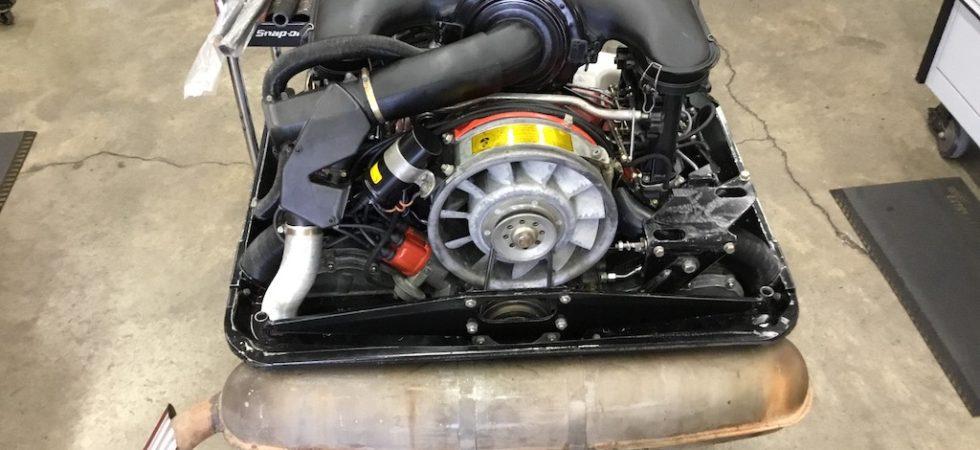 1973 911S Preservation Engine Build