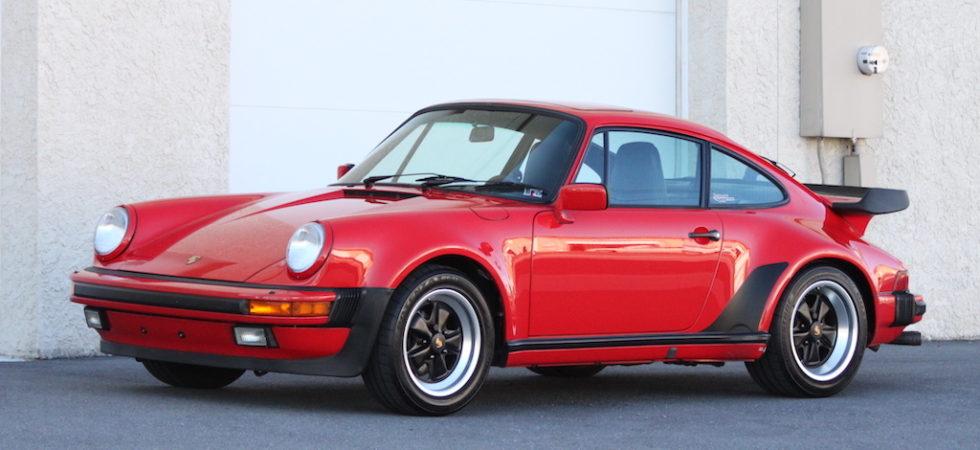1987 Porsche 930 Turbo  (under 25K miles)
