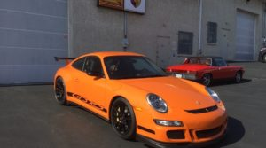 2008 Porsche 911 GT3 RS Coolant Flange Update